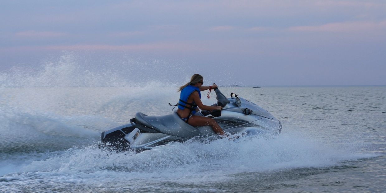 Poseidon Watersports jet ski rental services near Virginia Beach Virginia