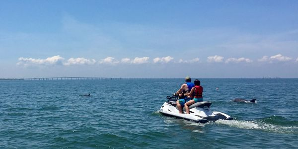 Poseidon Watersports jet ski rental services Cape Charles, Virginia