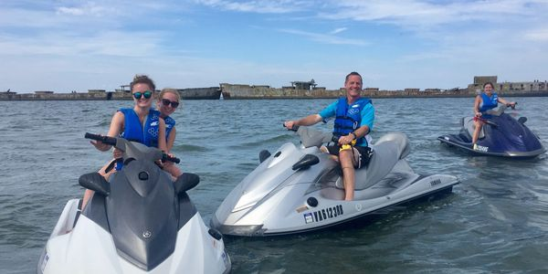 Poseidon Watersports jet ski rental Cape Charles, Virginia