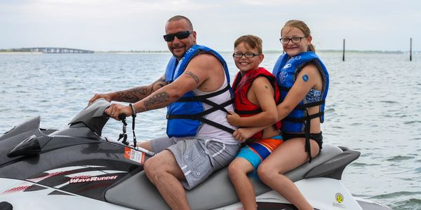 Poseidon Watersports jet ski rental near Virginia Beach Virginia