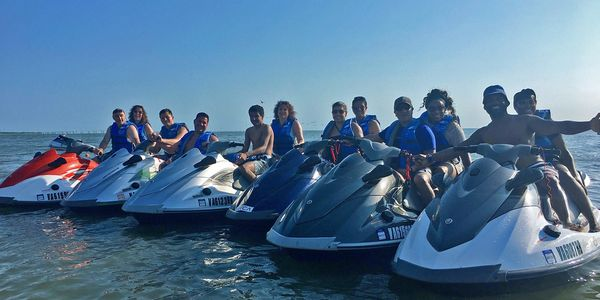Poseidon Watersports jet ski rentals near Virginia Beach Virginia