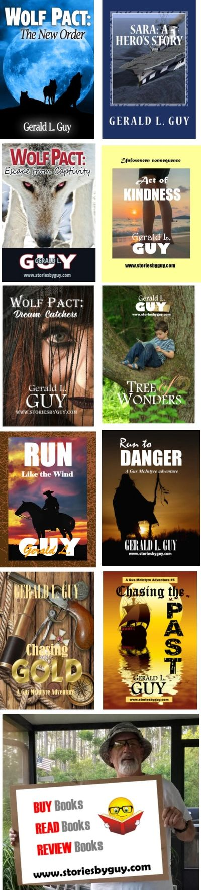 CLICK on any of the pictures above to go to my Amazon authors page.