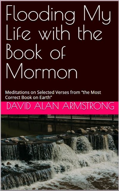 Kindle Edition Cover: Flooding My Life with the Book of Mormon
