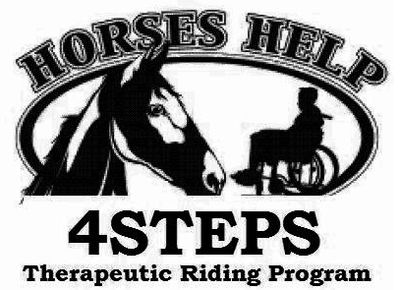 logo 4steps therapeutic riding program