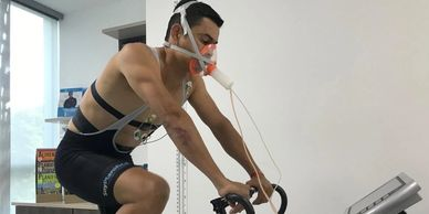 Ciclista Patrocinado por Alan Roca. Bucaramanga. Colombia.
