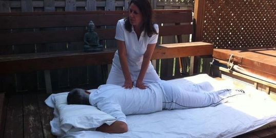 The body as a whole can be improved through regular shiatsu massage.  By stimulating the Ki (human b