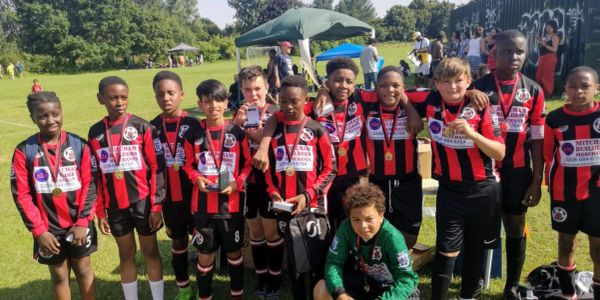 U12 reds division 5 runners up 2018 2019