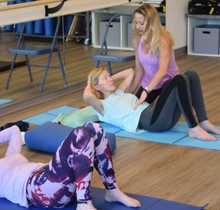 Yoga and Pilates Physical Therapy Class