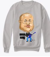 Donald Wayne King graphic sweatshirt collaboration with Antoine Maurice King