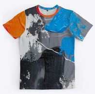 Antoine Maurice King Paint Graphic Tee