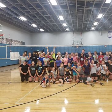 BOISE VOLLEYBALL CAMP IN EAGLE, IDAHO