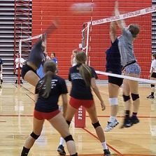 Get in the volleyball action and register for a volleyball camp today