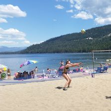 Donner Lake Beach Volleyball Camp in Truckee, California