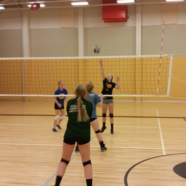 WOOD RIVER VOLLEYBALL CAMP IN HAILEY, IDAHO