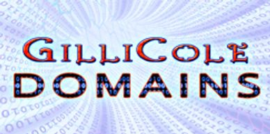 GilliCole Domains offers cheap domain registration, affordable website hosting, url specific emails