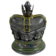 Silver Plate Crown