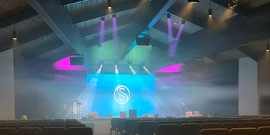 2.97 Pixel Pitch LED Video Wall & Complete Lighting System Upgrade