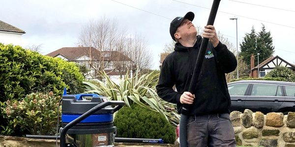 Gutter cleaning in leeds and yorkshire.