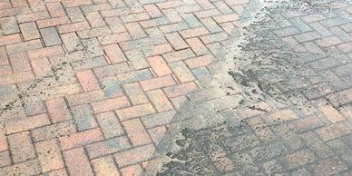 Block paving and driveway cleaning
