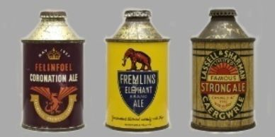 British Beer Cans such as these are highly valuable. Contact Jeff Lebo https://cansmartbeercans.com