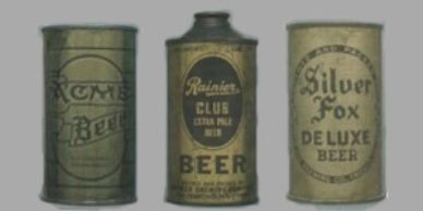 Vintage Beer Cans such as these are highly valuable. Contact Jeff Lebo https://cansmartbeercans.com