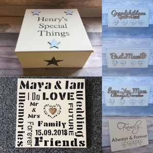 Beautiful personalised wooden signs, plaques and gifts.