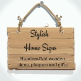 Stylish Home Signs