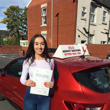 Driving Lessons Hyde, first time pass