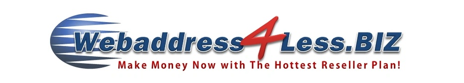 WebAddress4Less Reseller Business