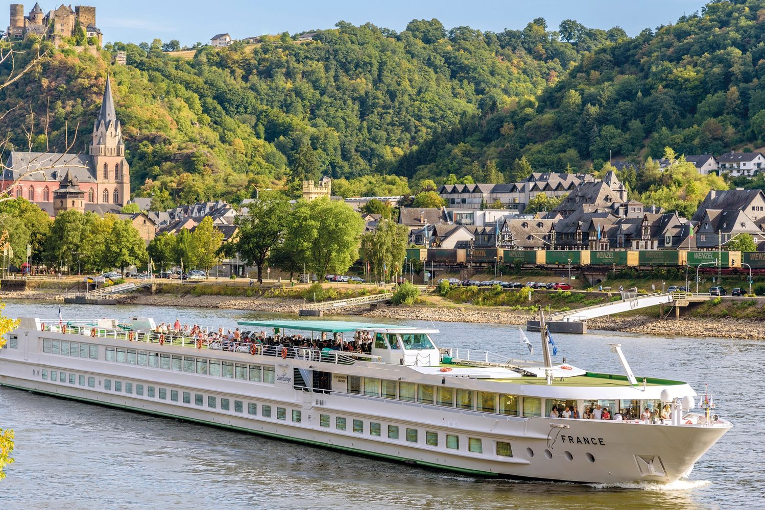 Rhine river cruising in Germany with Railandsailvacations.com