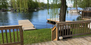 Direct Lakefront Cottage 2 Bedroom   Asking $134,900 Lot Centre #20  |  2019 Site Fees $2,905