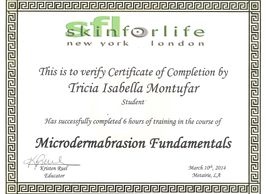 Microdermabrasion Certification