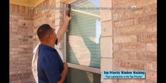 Top Priority window Washing cleaning residential windows