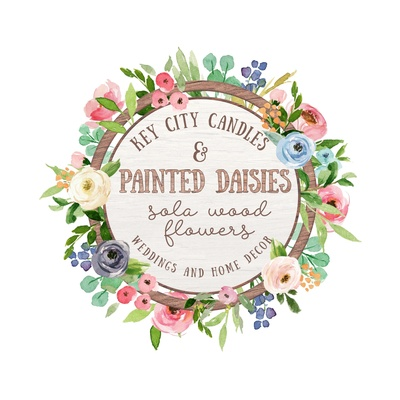 Key City Candles and Painted Daisies