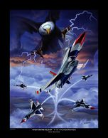 Andy Wenner Art Print Thunderbirds