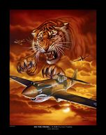 Andy Wenner Art Print Flying Tigers