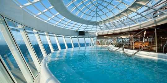 Royal Caribbean Allure of the Seas Solarium
