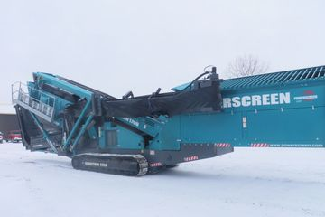 Powerscreen Chieftain 1700 Stock #4817 screen plant