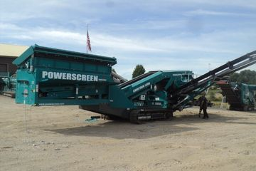 Powerscreen Chieftain 1400 Stock #6819 screen plant