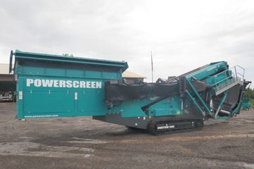 Powerscreen Chieftain 1400 Stock #0118 screen plant
