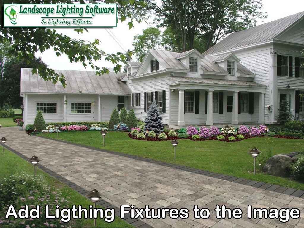 Landscape Lighting Software Outdoor Night Lighting Design