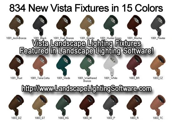 Vista Outdoor Lighting Landscape Lighting Software