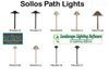 Sollos Path Lights featured in Landscape Lighting Software.