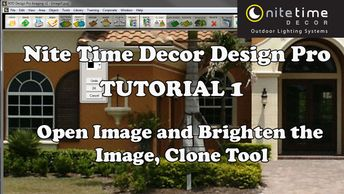 Nite Time Decor Design Pro Software Tutorial 1
