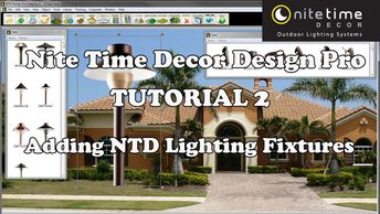 Nite Time Decor Design Pro Software Tutorial 2