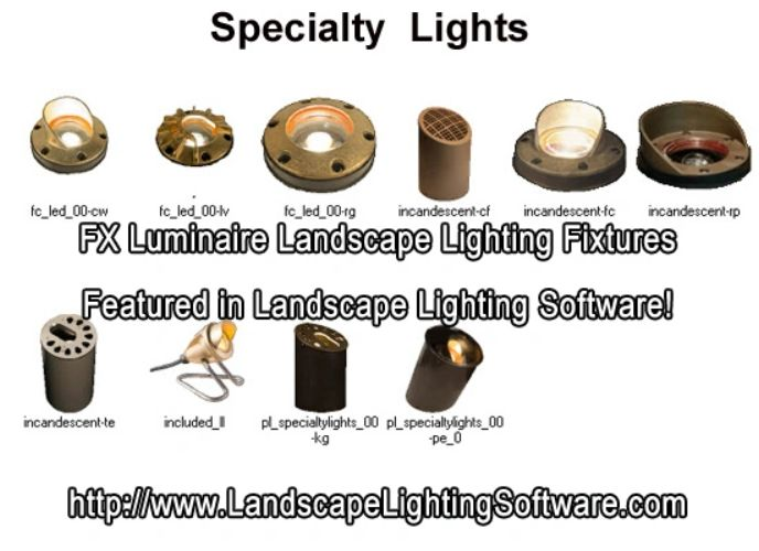 Fx luminaire landscape lighting software fx luminaire exterior speciality lights workwithnaturefo