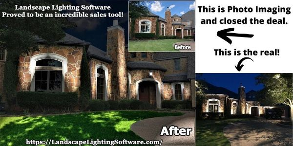 Landscape Lighting Design Software is a incredible sales tool.