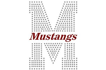 Large M Mustangs Design