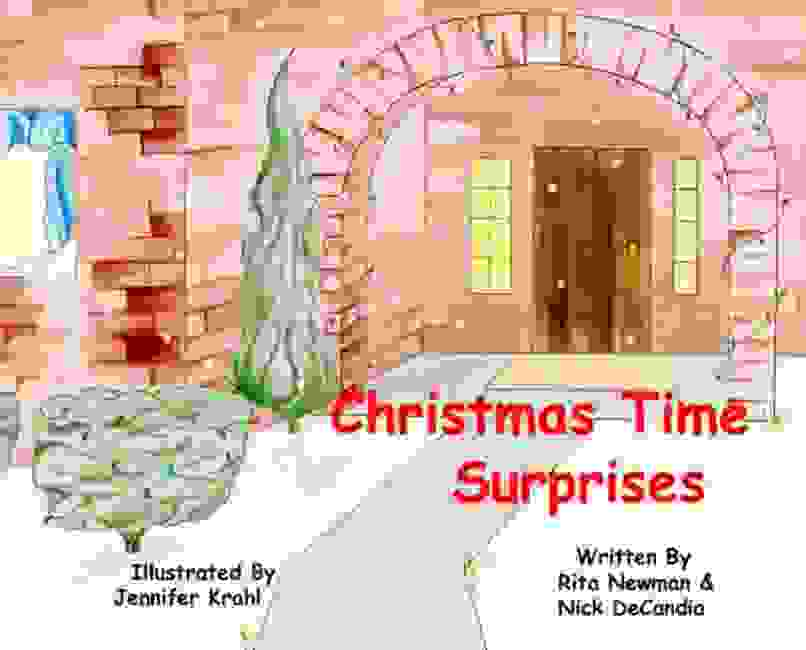Cover of book, Christmas Time Surprises