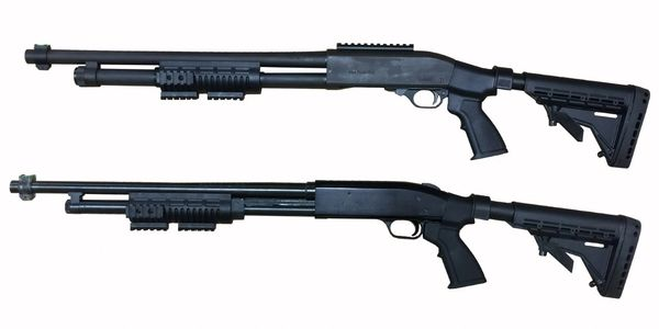 KickLite® tactical shotgun stocks